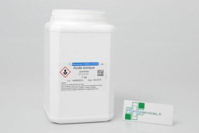 acide borique prix