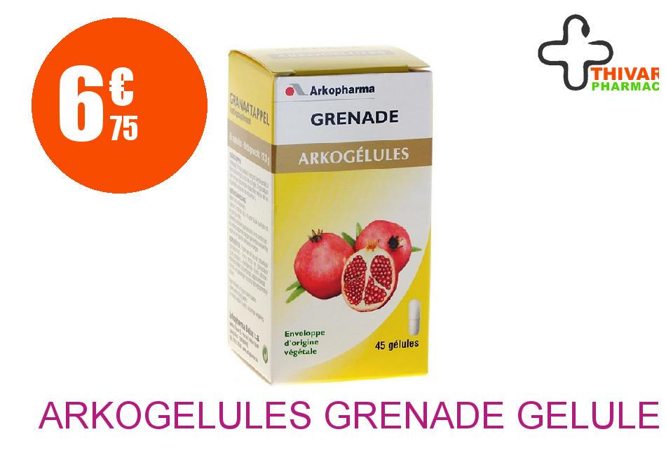arkogelules grenade