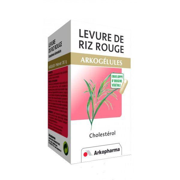 arkogelules levure de riz rouge