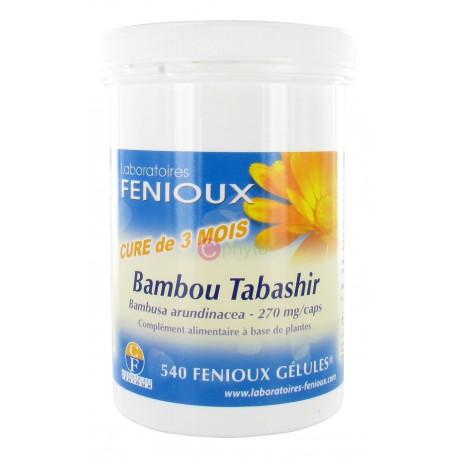 bambou tabashir laboratoire fenioux