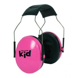 casque anti bruit rose