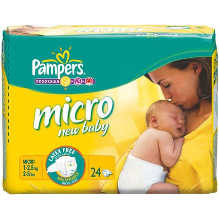 couche pampers micro