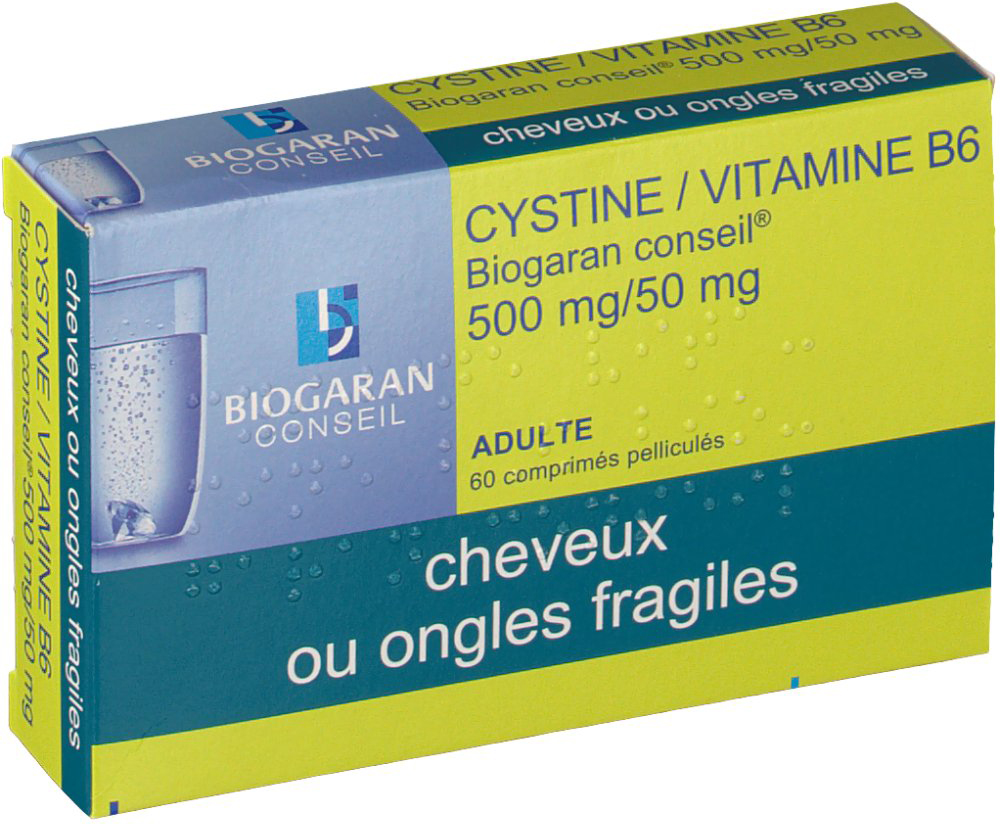 cystine b6 pharmacie