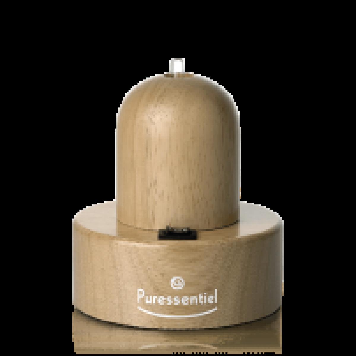 diffuseur a nebulisation pour huiles essentielles bois naturel. Black Bedroom Furniture Sets. Home Design Ideas