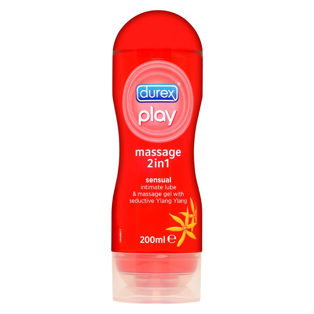 durex 2in1 massage gel ylang ylang