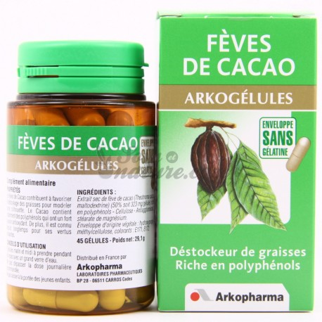 feves de cacao complement alimentaire