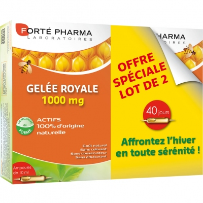 forte pharma gelee royale