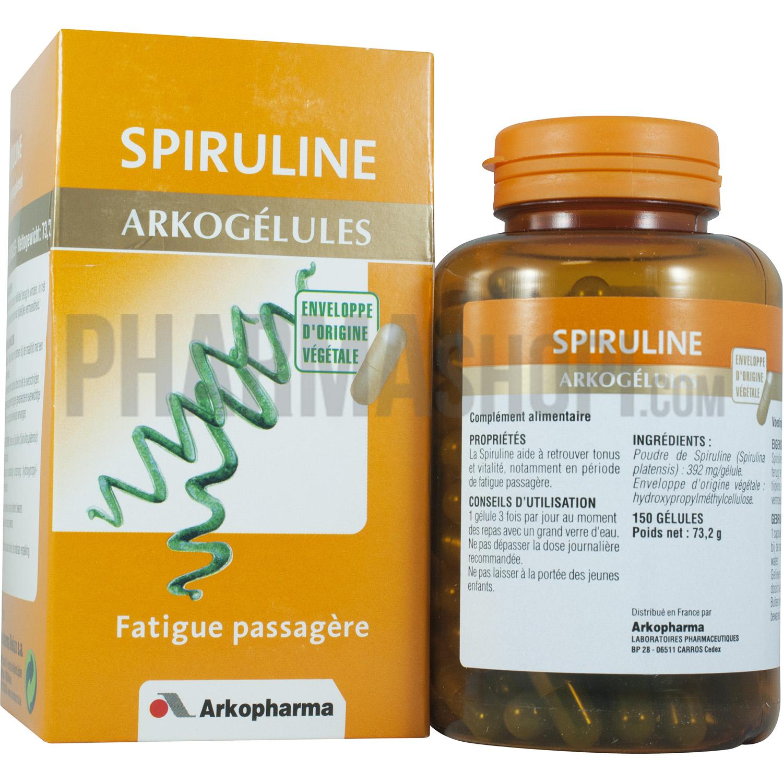 gelule spiruline arkopharma