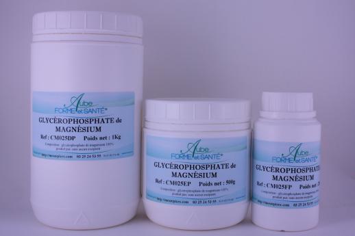 glycerophosphate de magnesium