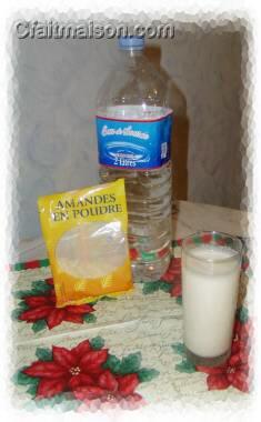 lait d amande poudre