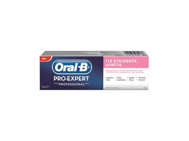 oral b pro expert sensitive