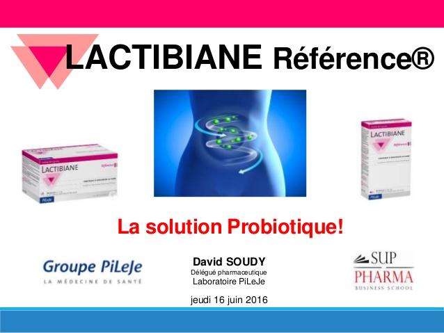 pileje probiotique
