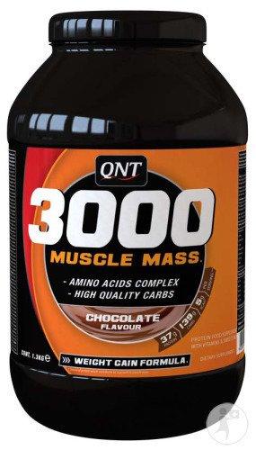 qnt 3000 muscle mass utilisation