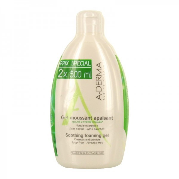 savon aderma au lait d avoine