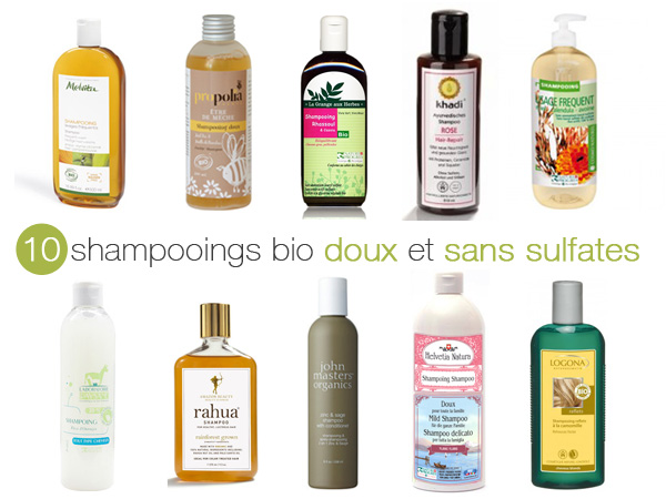 shampoing doux sans sulfate
