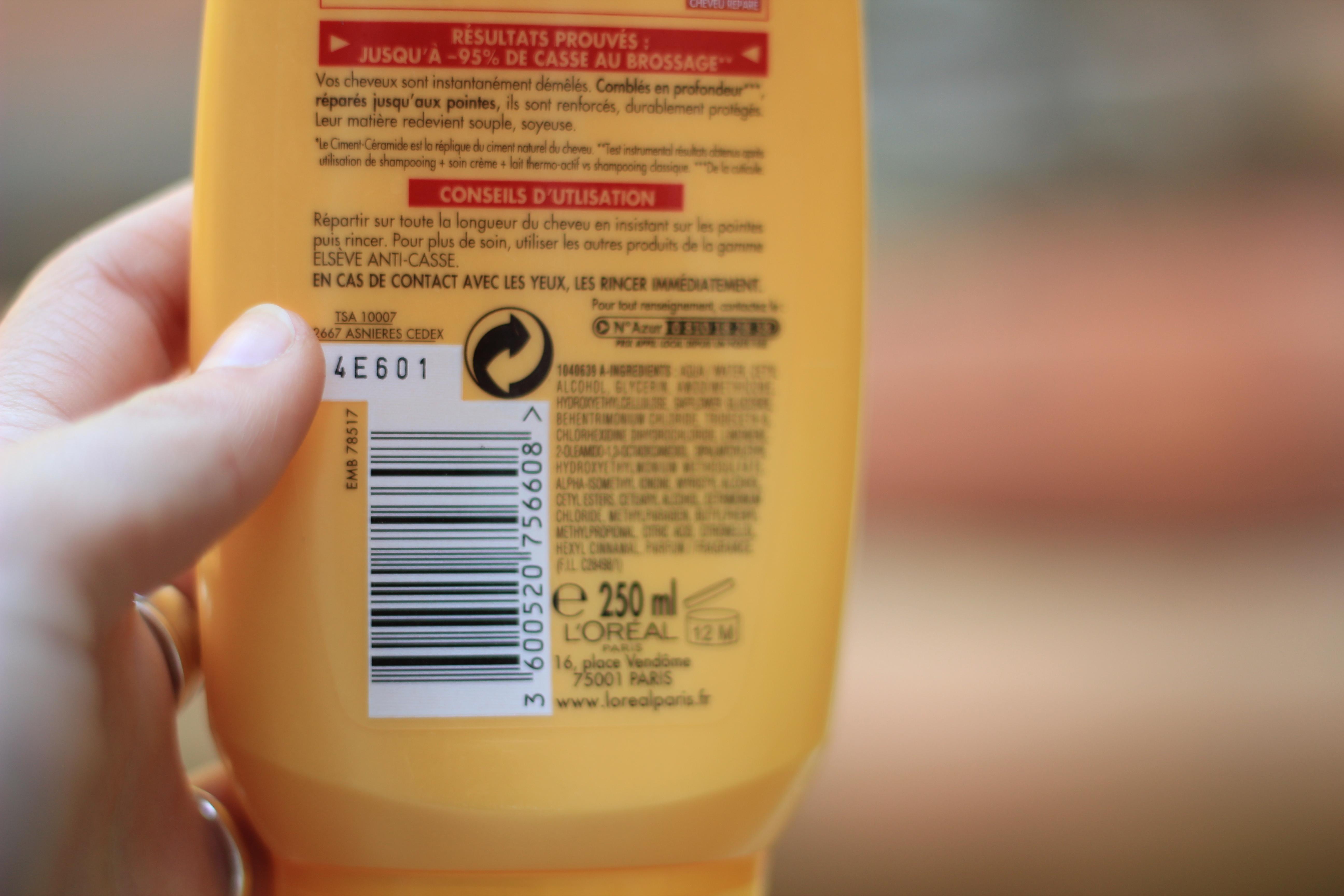 shampoing sans sodium laureth sulfate en grande surface