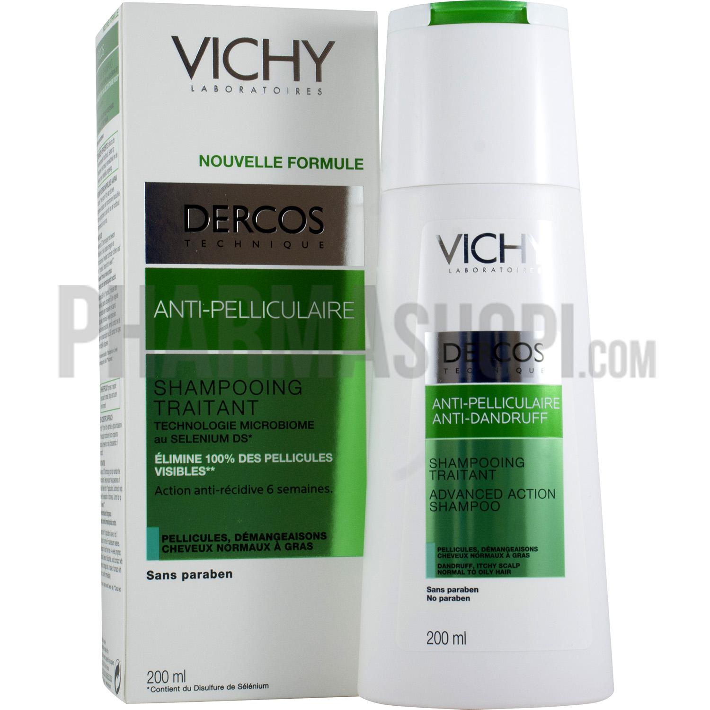 shampoing vichy cheveux gras