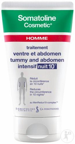somatoline cosmetic homme ventre et abdomen intensif nuit