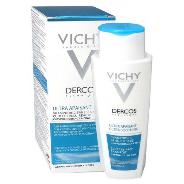 vichy dercos cheveux gras
