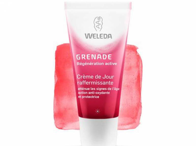 weleda grenade creme de jour raffermissante 30ml avis