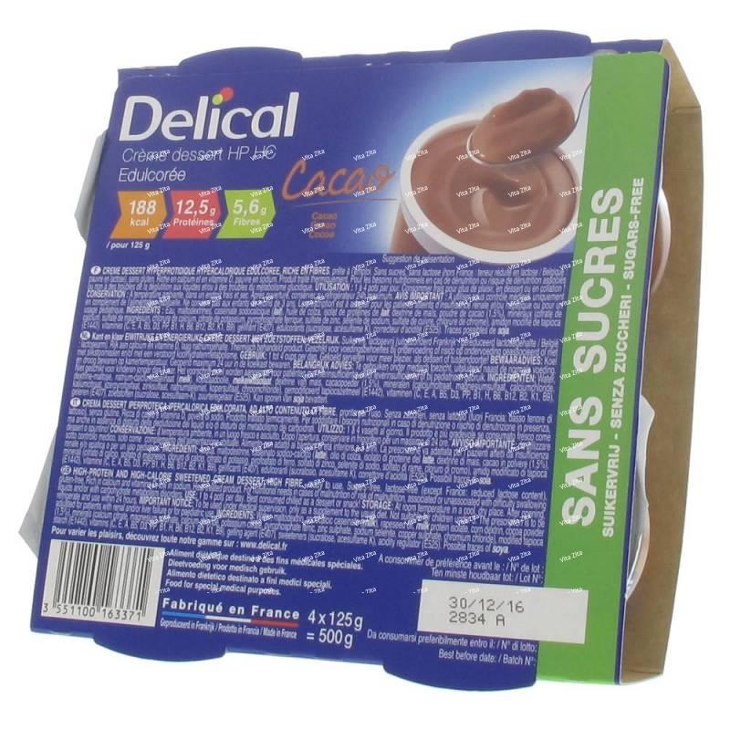 delical sans sucre