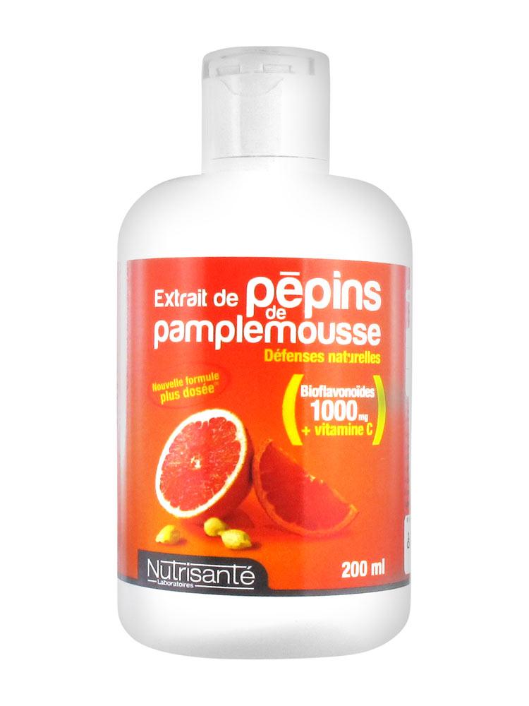 extrait de pepin de pamplemousse nutrisante