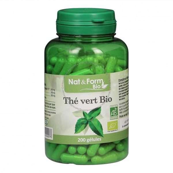gelule de the vert