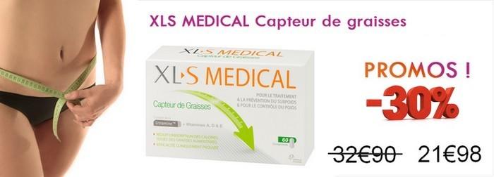 prix xls medical capteur graisses en pharmacie