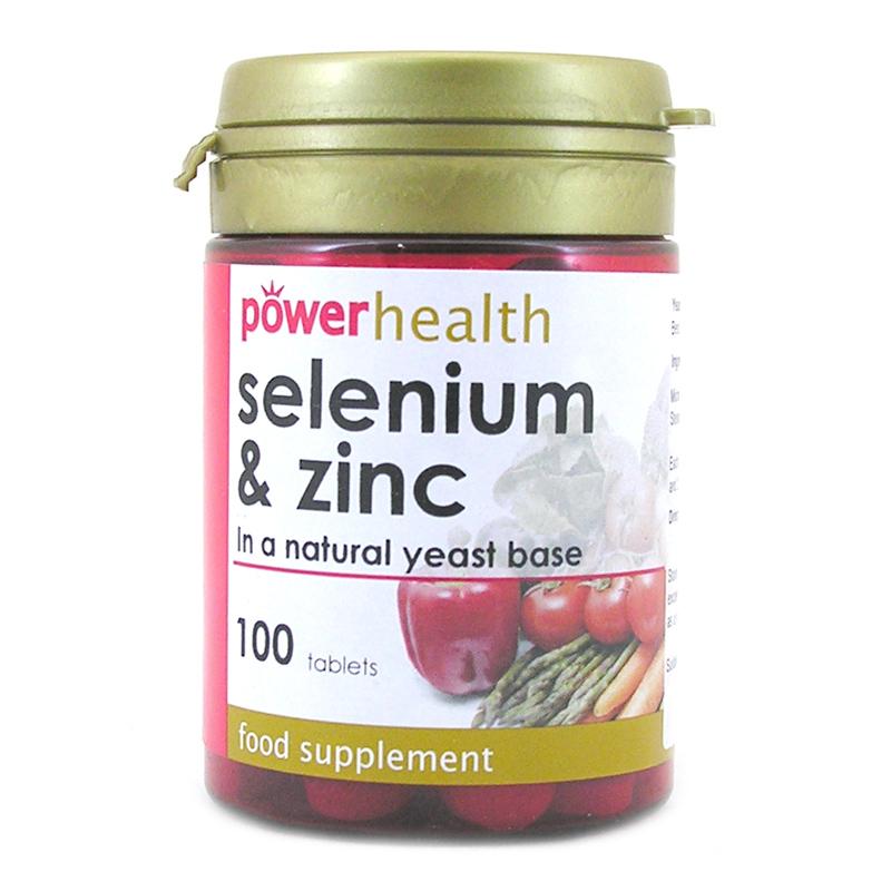 selenium zinc