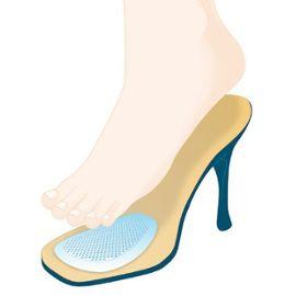 semelle gel chaussure talon
