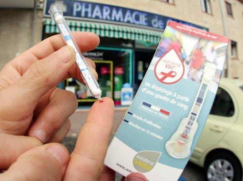 test sida rapide pharmacie