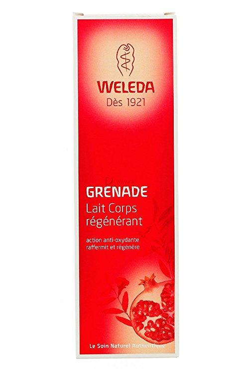 weleda lait corps grenade